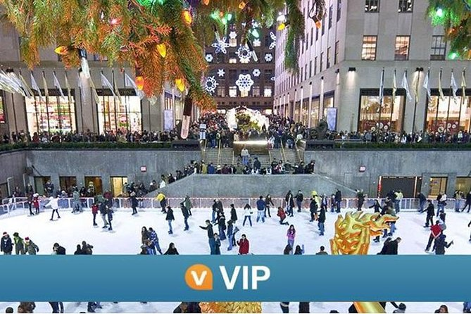 Viator VIP: Rockefeller Center Ice Skating Experience and Top of the Rock Observation Deck