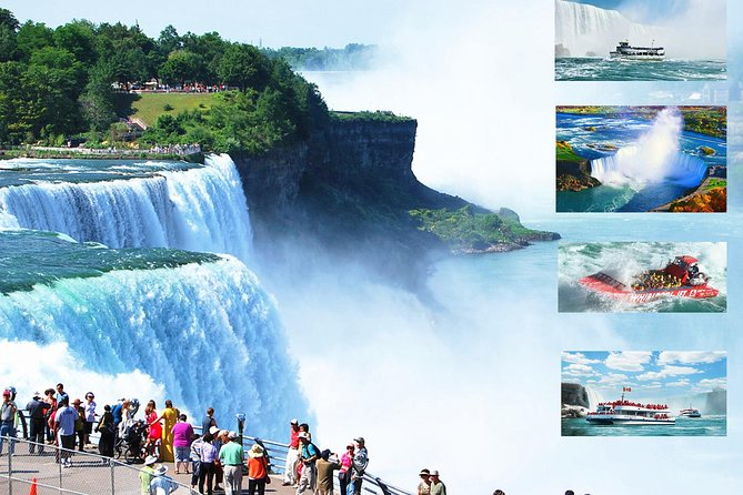 VIP Niagara Falls USA Side Private Tour and Boat Ride