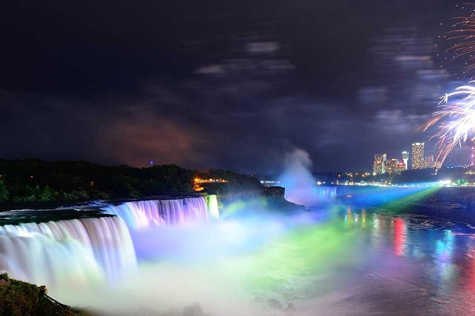 Niagara USA side Evening Illumination Tour and Boat