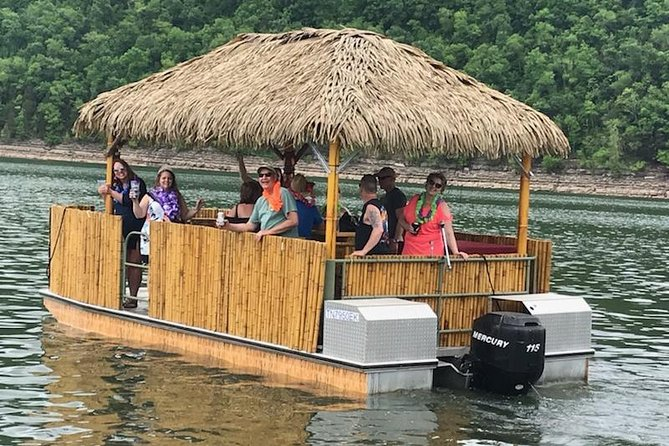 Tiki Fun Boat Tour for 6 People. Only 65 Miles from downtown Nashville.