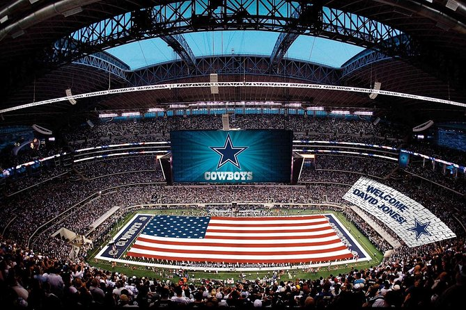 Small-Group Dallas Cowboys Stadium Tour with Transportation