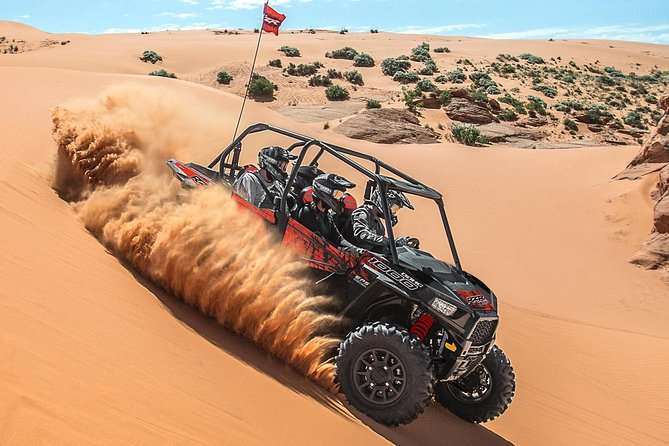 Sand Hollow ATV Rentals - New 4 Person UTV Bring up to 4 People Per Machine