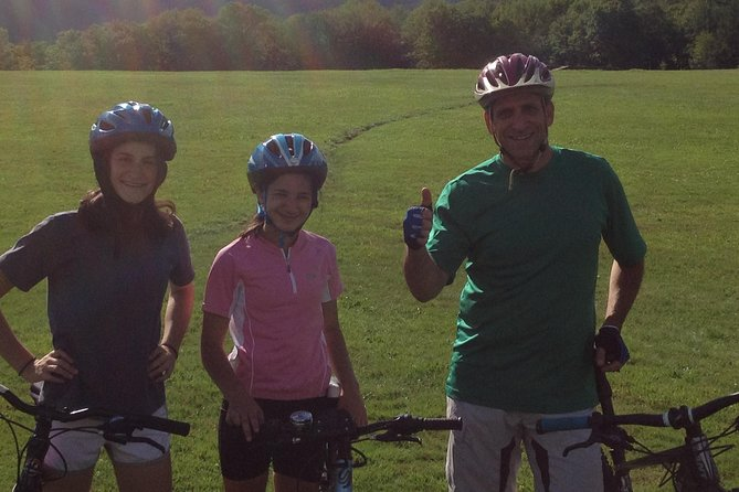 Small Group Mountain Bike Lesson in Stowe Vermont