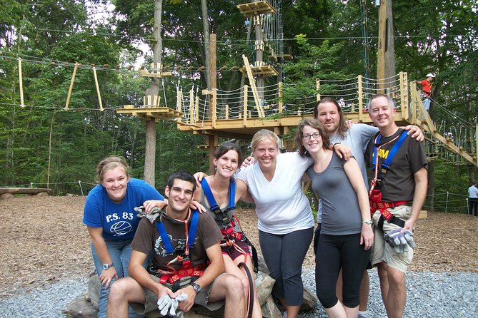 Ziplining and Climbing at The Adventure Park at Virginia Aquarium (1-3 hours)