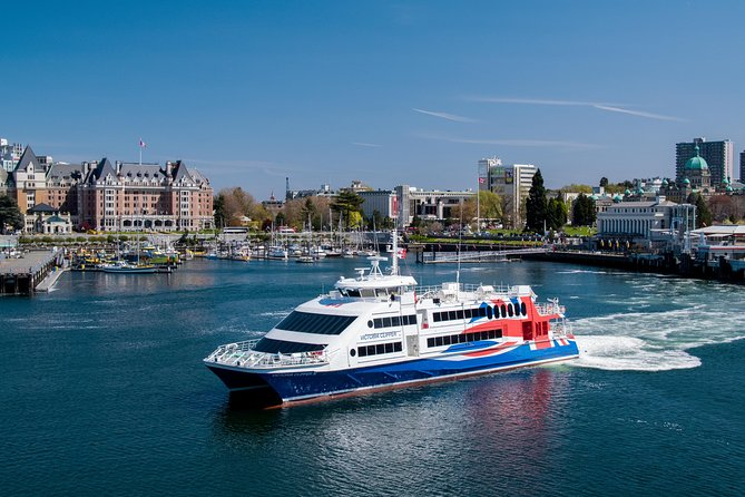 Day Trip from Seattle to Victoria on the Victoria Clipper