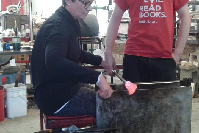 Private Glass Blowing Class and Tour of Fremont
