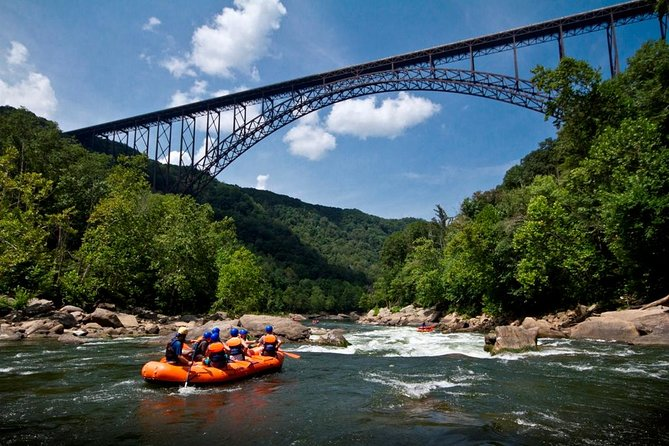 Lower New River Whitewater Rafting Trip