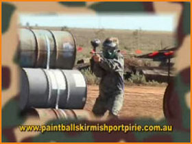 Paint Ball Skirmish Port Pirie Image