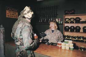 Indoor Skirmish - Paintball Sports Image