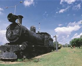 Old Katherine Railway Station Image